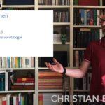 Ein neuer Videoblog – ein neues WordPress 5.5 und Google hat auch was Neues.